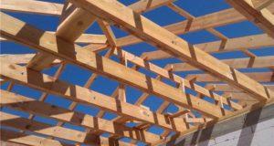 древесные балки