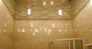 потолок ванной